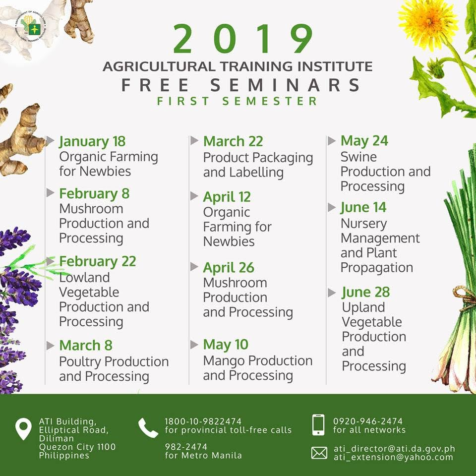 FREE Agriculture Seminars for 2019 | Collector's Connection