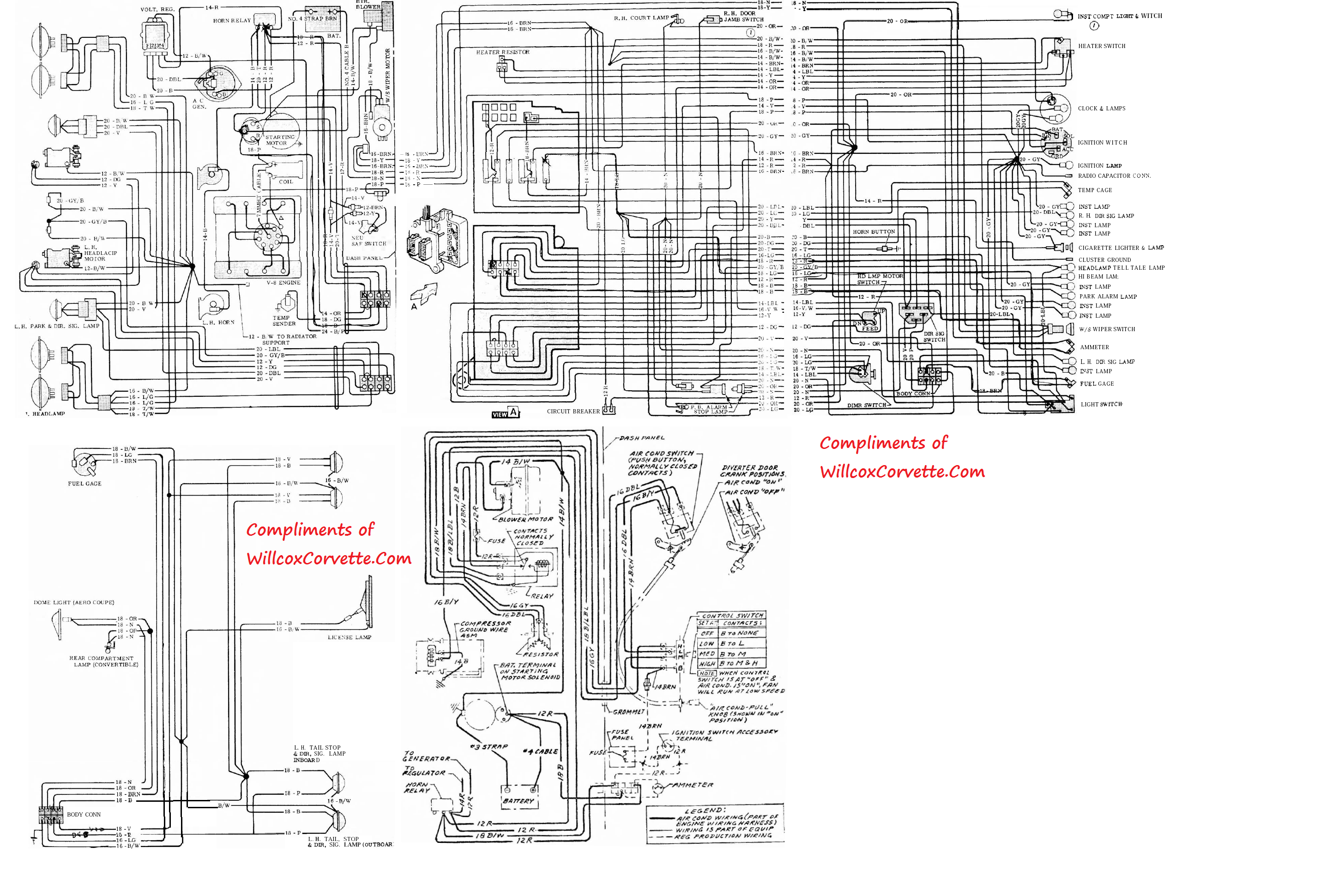 63 corvette headlight diagram electrical wiring diagrams rh wiringforall today