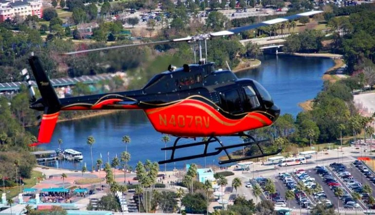 Helicopter Ride Beach