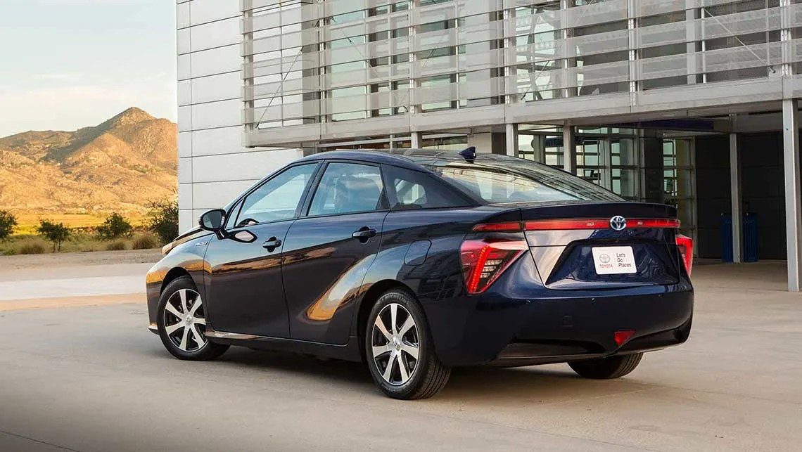 Toyota Mirai Hydrogen Car Revealed Car News Carsguide