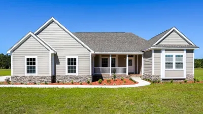 New Homes Titan Factory Direct | Mobile Home Outside Steps | Siding | Landscaping | Trailer | Double Wide | Deck