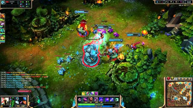 Pattern Recognition AI Algorithm Fights Online Bullying     A screenshot of League of Legends gameplay