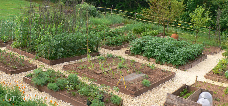 Beds Garden Raised Plan Diy