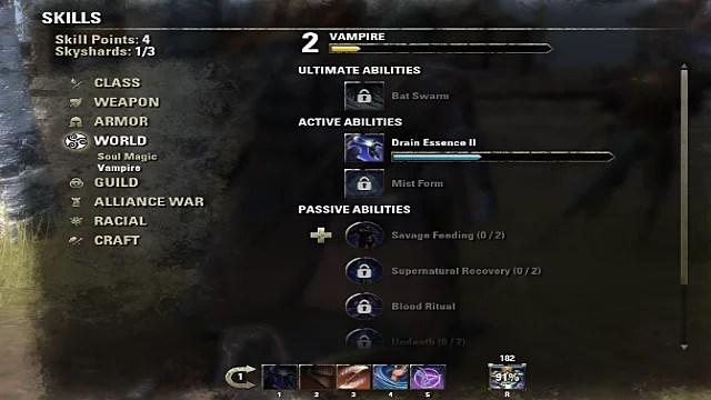 Elder Scrolls Online Becoming Vampire