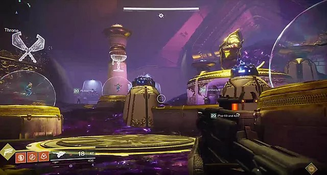 Symbols Raid Destiny 2