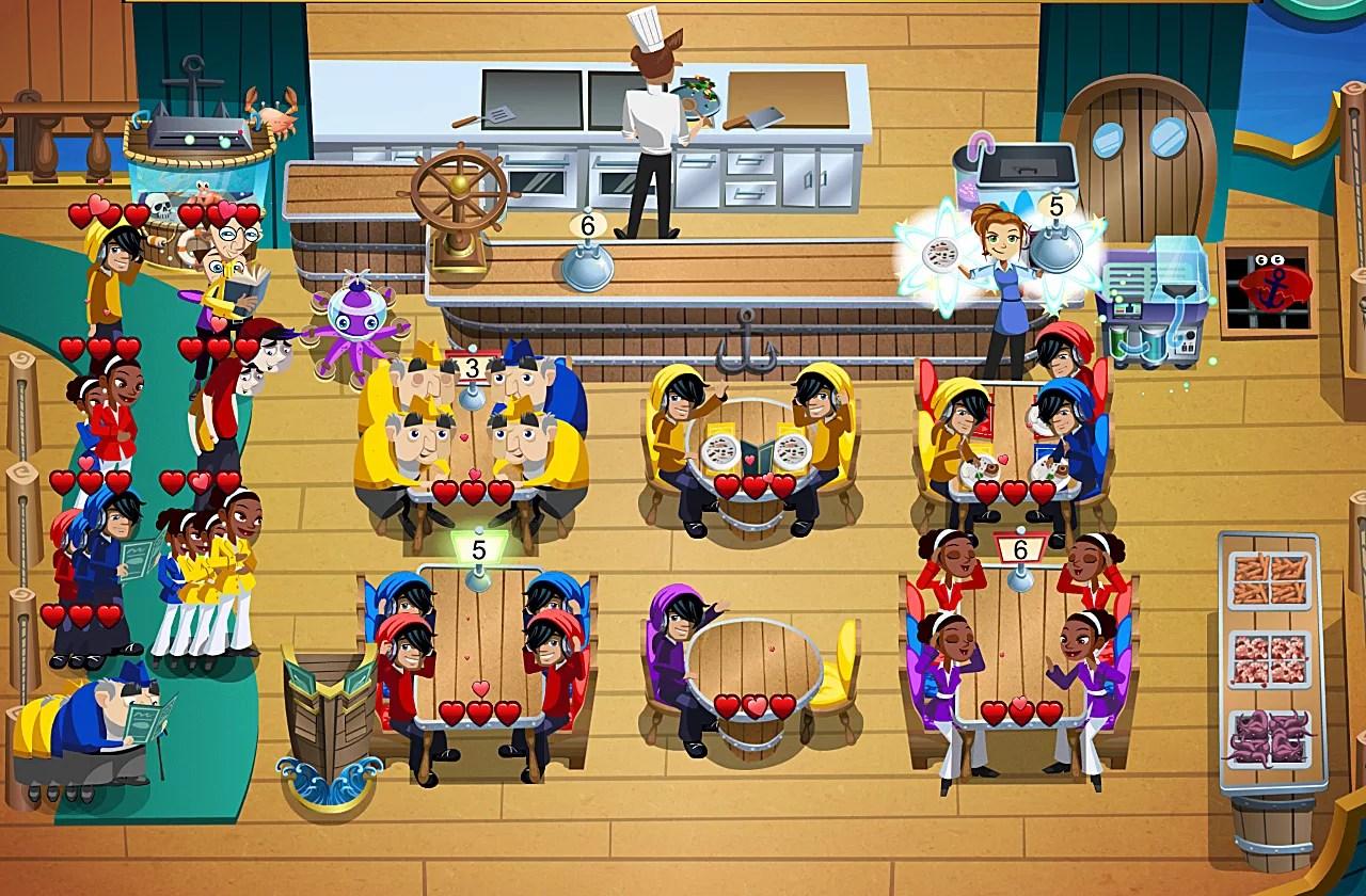 Restaurant Games Diner Dash