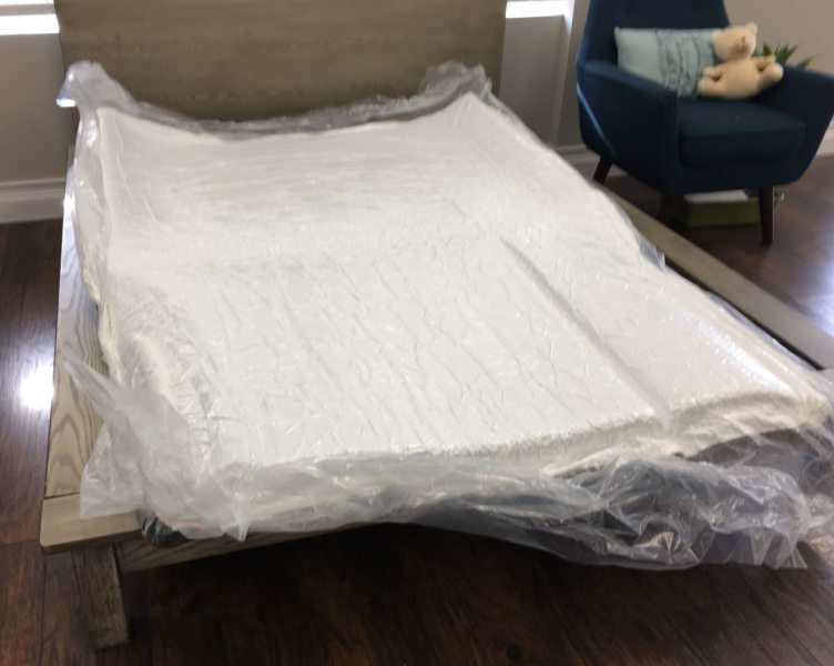 tulo Mattress Review   The Sleep Sherpa Tulo Mattress Unbox