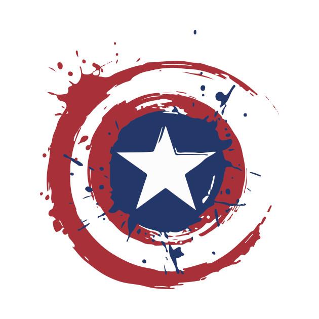 Authentic Metal Captain America Shield