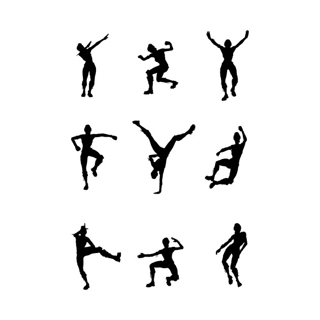 Shirt Dance Svg Fortnite