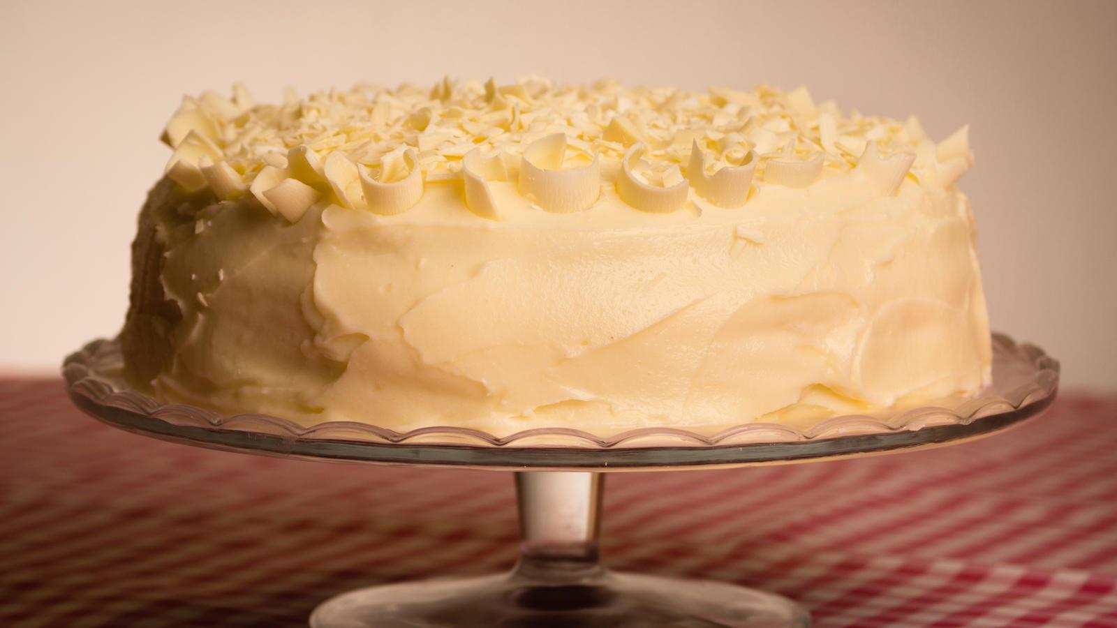 White Chocolate Cake Good Food Channel