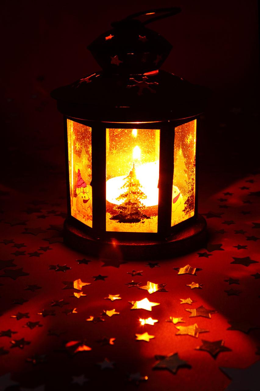 Lantern Free Stock Photo A Christmas Lantern 11711