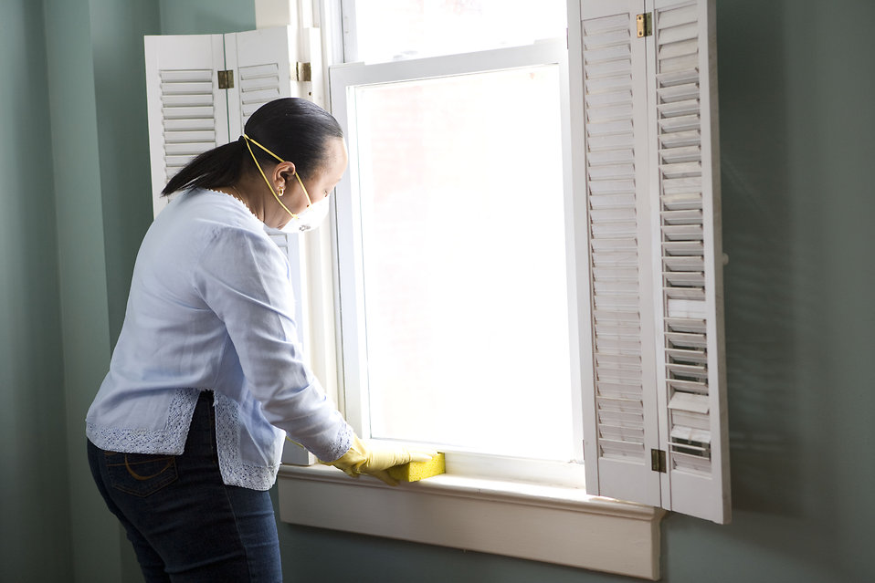 Cleaning Free Stock Photo An African American Woman