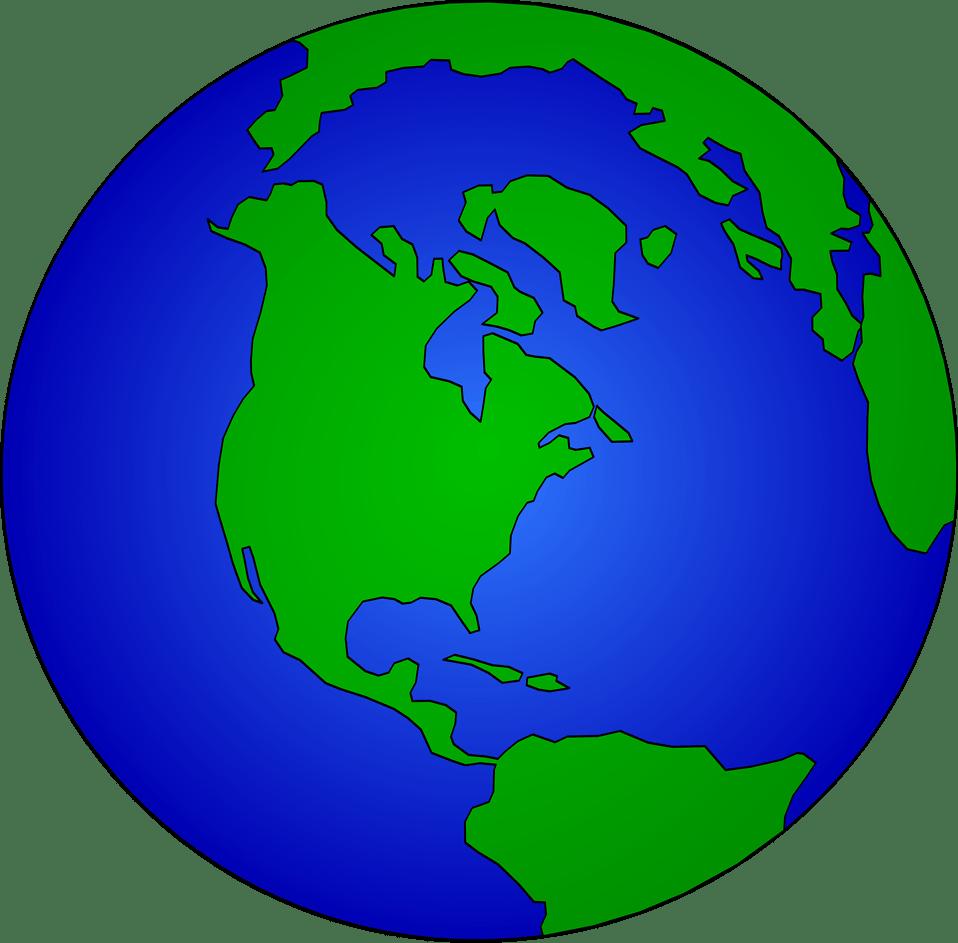 Art World Map Clip