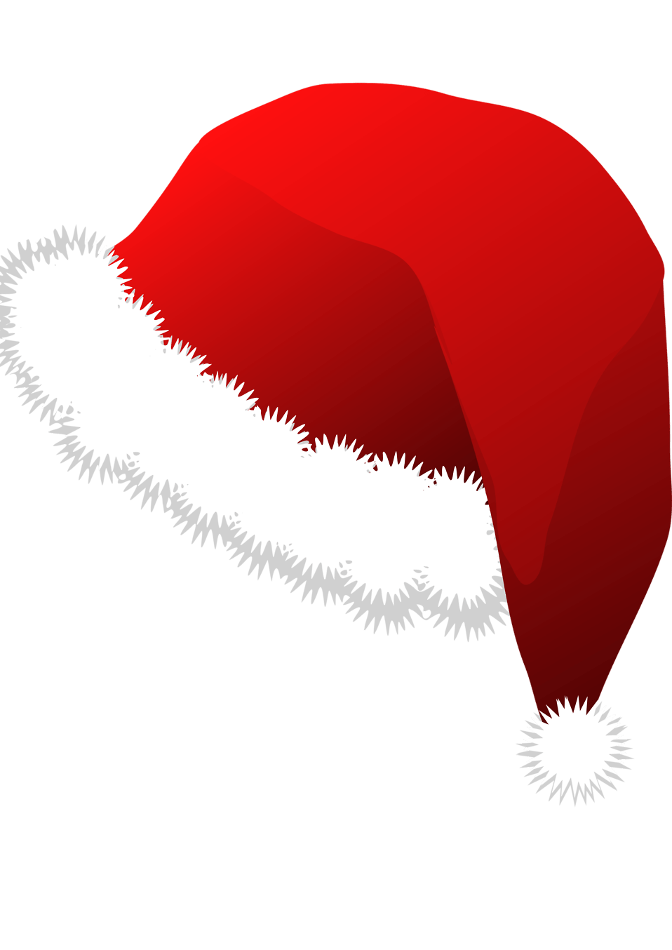 Santa Hat Clear Background