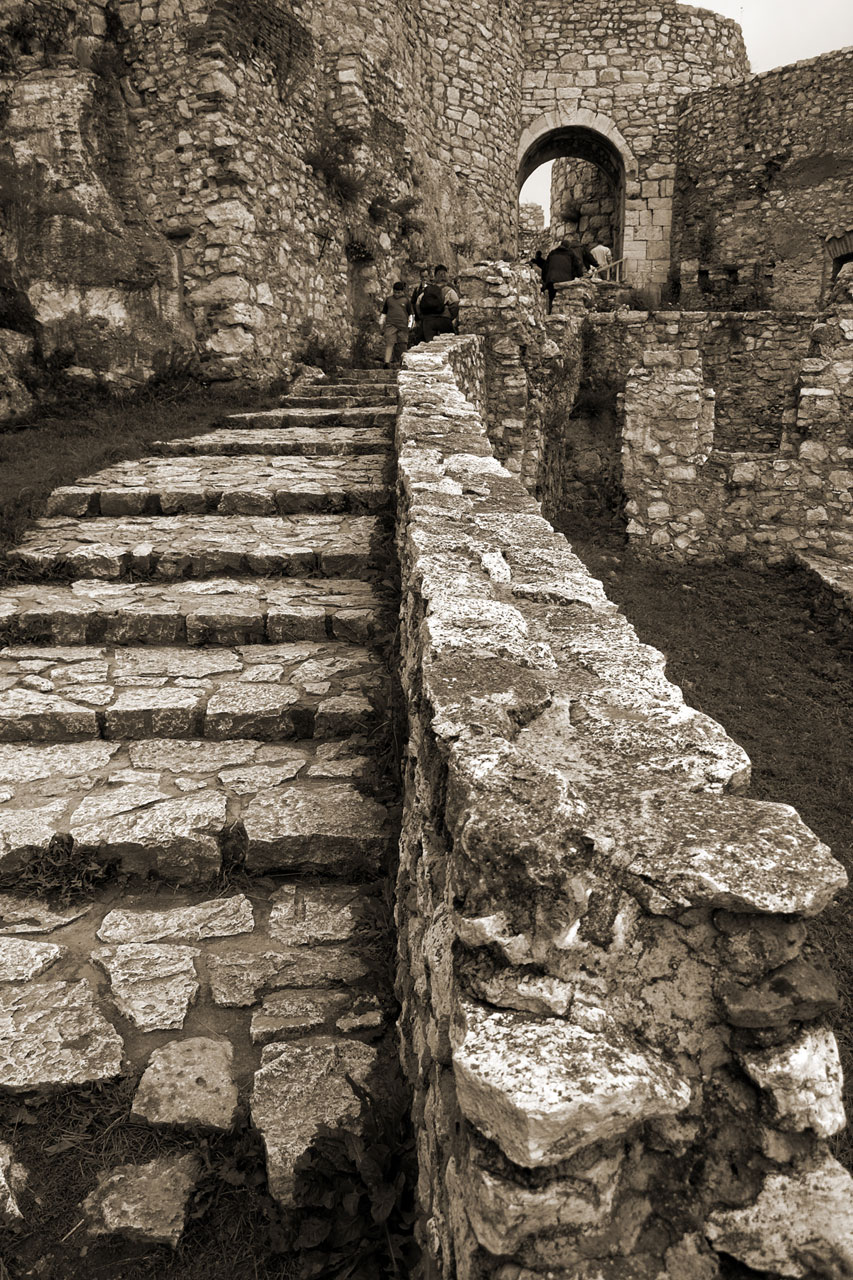 Steps Free Stock Photo Stone Steps In Spis Castle In
