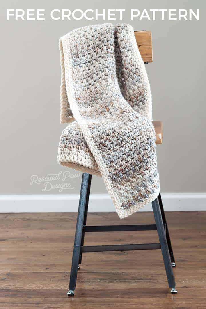 Chunky Crochet Throw Patterns Yarn