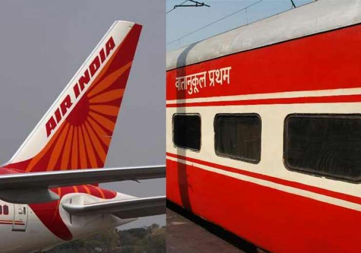 Wait-listed in Rajdhani Express, get an Air India booking
