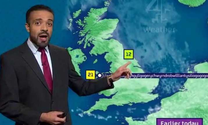 Weather reporter nailed pronunciation 58, old english letter b