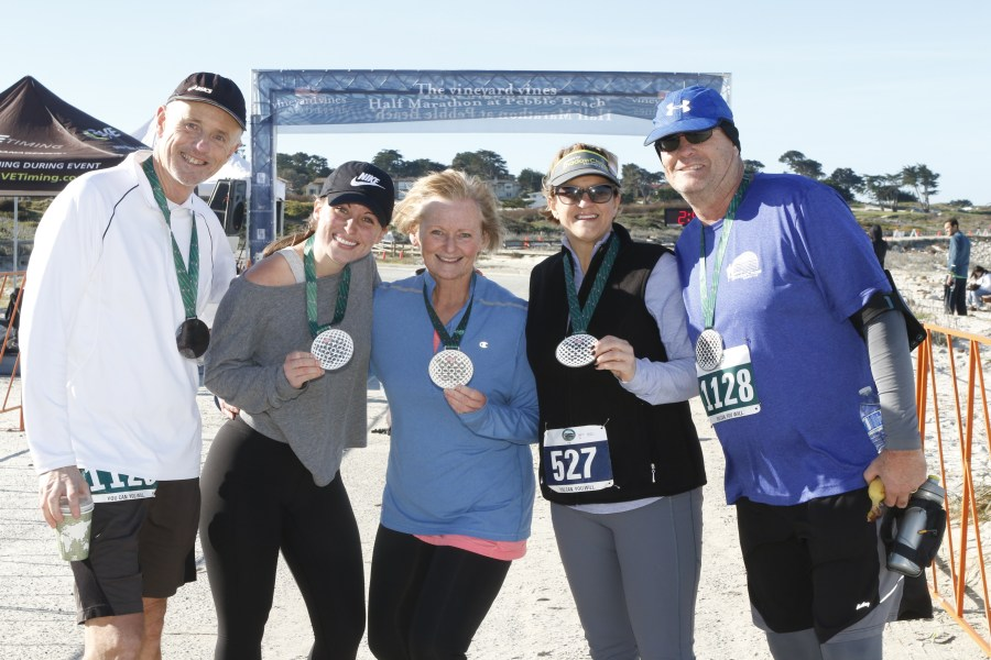 The vineyard vines Half Marathon at Pebble Beach         Resort Races     Experience a breathtaking course along the iconic 17 Mile Drive