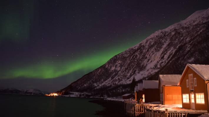 Can You See Northern Lights Tromso City Centre