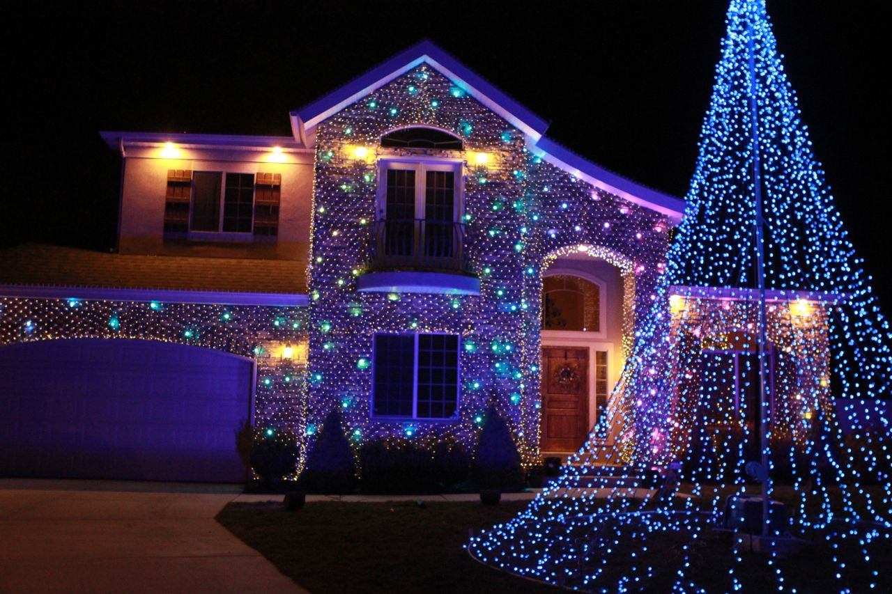 Christmas Lights Installed