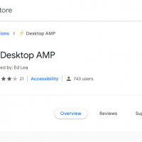 AMP Desktop: automatically load AMP pages on your desktop browser 5