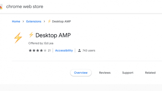 AMP Desktop: automatically load AMP pages on your desktop browser 4