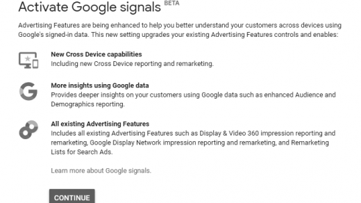 Google Signals: Enhancement in Cross-Device Tracking and Audience Targeting 3