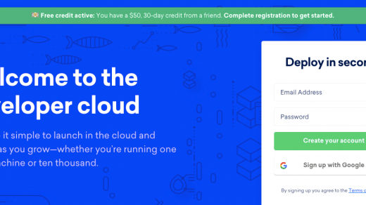 Create Ubuntu Cloud Server on DigitalOcean with $50 Free Credits! 4