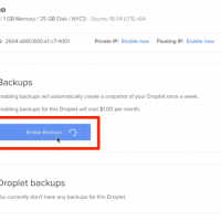 Enable Weekly DO Droplet Backups and Create Snapshot Image 3
