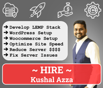 Hire Kushal Azza on restoreBin
