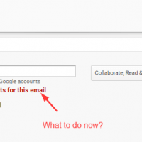 No Google account exists or associated with email error [3 working solutions] 1