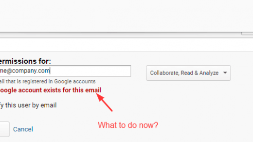 No Google Account Exists For This Email