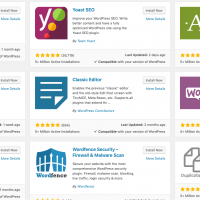 WordPress Plugins Repository - Popular