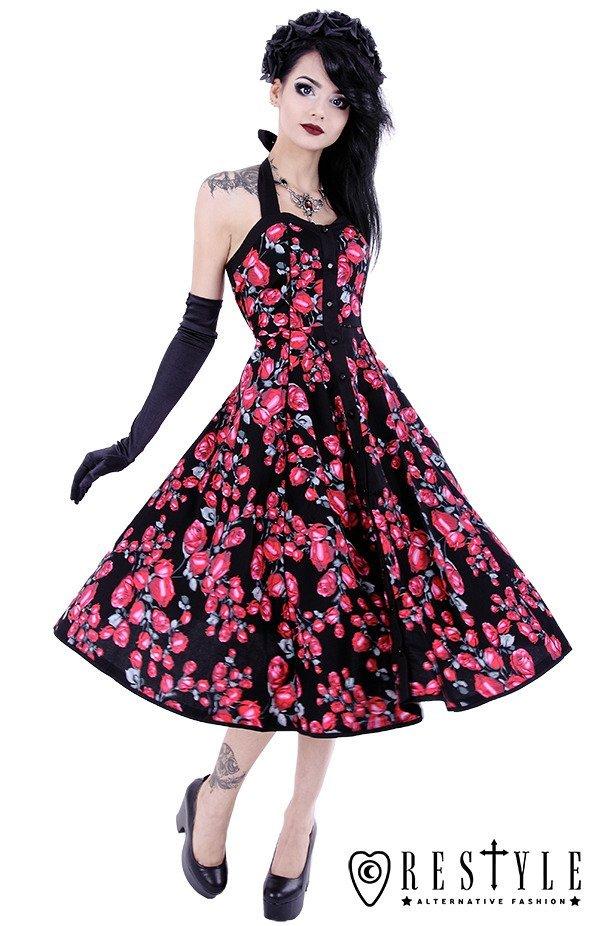 Pin up dress, 50' style, retro skirt, evening circle dress ...