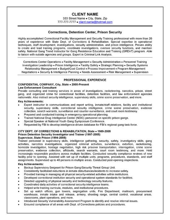 Facility Security Manager Job Description