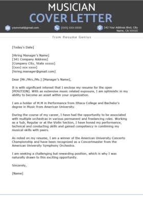 Graphic Design Cover Letter Sample Free Download