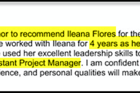 Free Professional Resume » letter of recommendation for medical ...