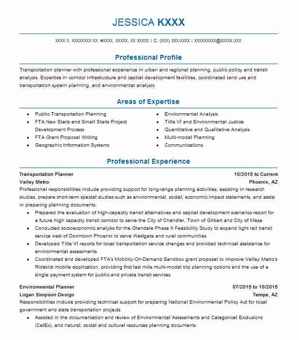 Landscape Design Resume