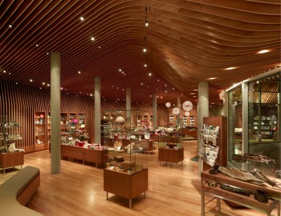 Crystal Bridges Museum store by Marlon Blackwell Architect ...