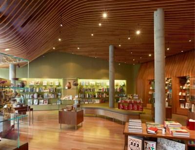 Crystal Bridges Museum store by Marlon Blackwell Architect ...