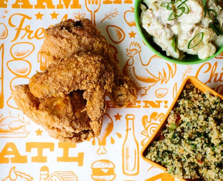 Chicken Raised Food