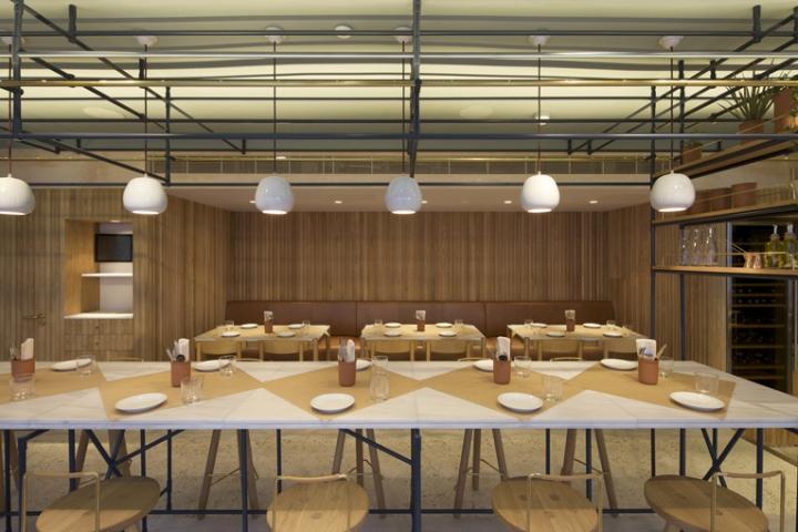 187 Opso Greek Restaurant By K Studio London Uk