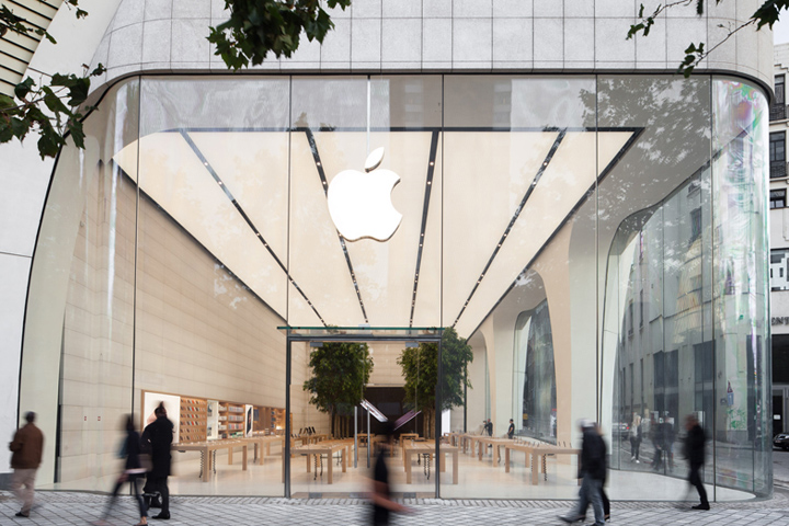 Apple store by Foster   Partners  Brussels     Belgium      Apple store by Foster   Partners  Brussels     Belgium
