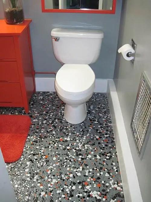Vintage Pebble Floor Tile Launches Tex S Gray Black