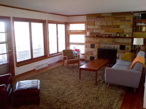 How To Decorate The Fireplace In A Mid Century Ranch House
