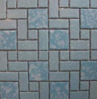 15 new mosaic floor tile designs for a retro vintage style bathroom     retro bathroom floor tile
