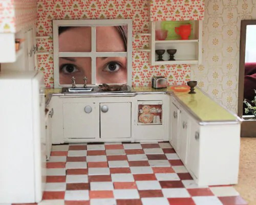 Dollhouse Printable Countertops