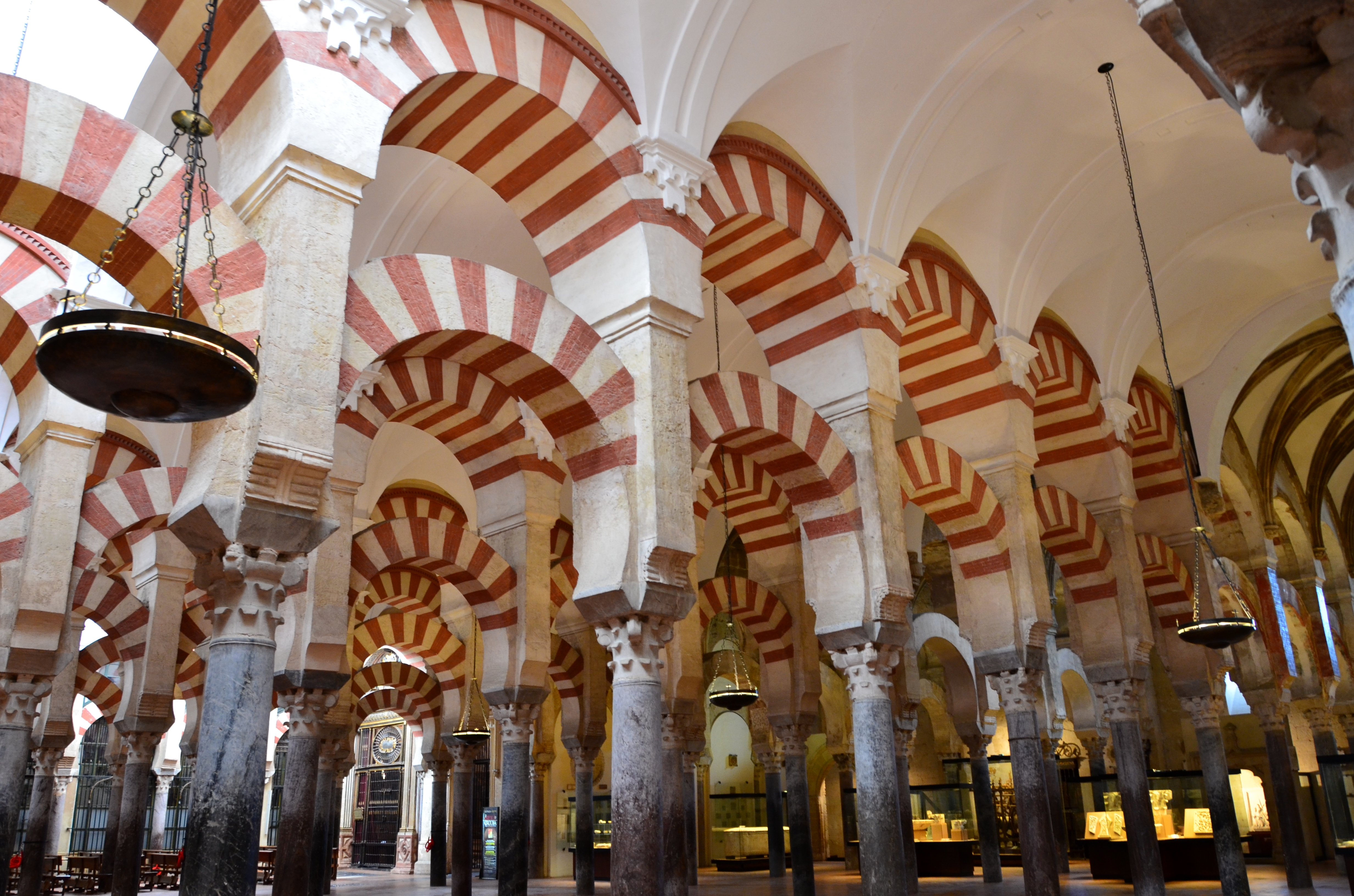 The greatest attractions you must see in Andalusia in Spain Great Mosque Of Cordoba Interior