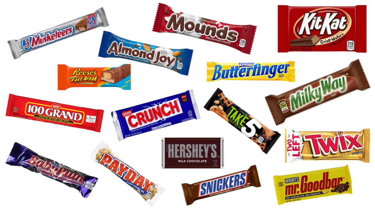 List Hershey Candy Products